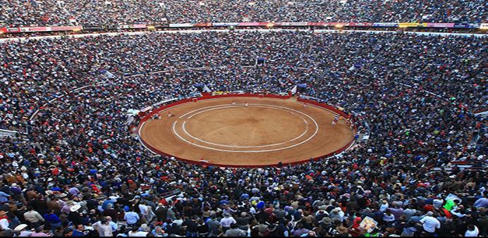 Plaza de toros mexico capacidad