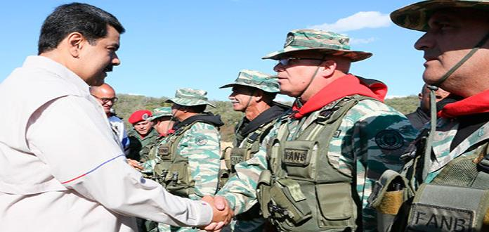Maduro inicia los ejercicios militares