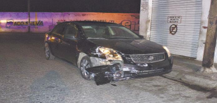 Choque de autos en la Rural  Atlas deja sólo daños materiales