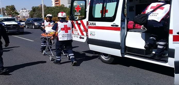 En enero Cruz Roja atendió entre 7 y 9 accidentes diarios