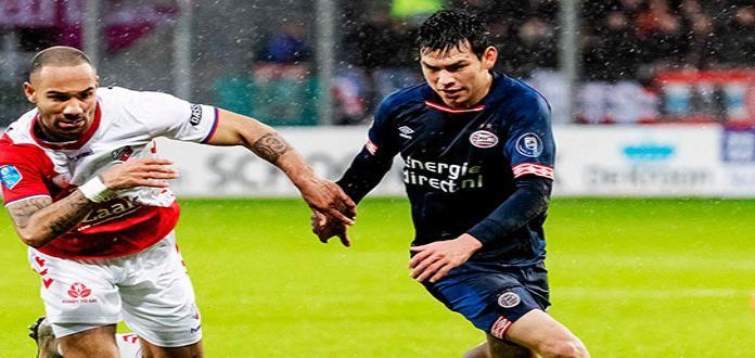 """PSV empata con Utrecht, en  regreso de """"Chucky"""" Lozano"""