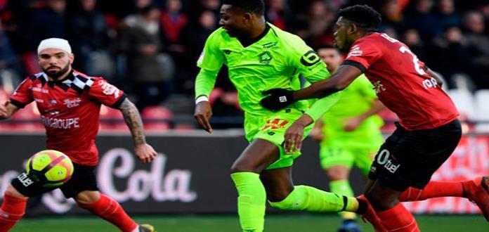 Lille vence a Guingamp y es sublíder en Francia