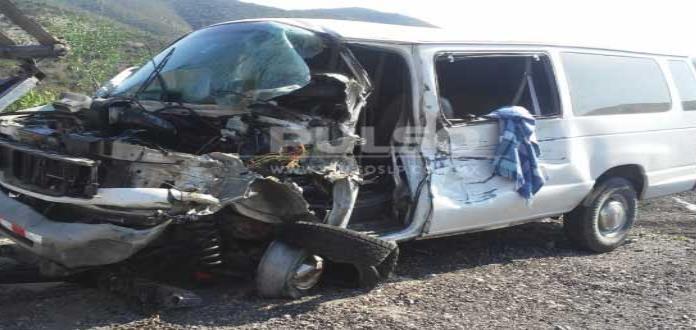Aparatoso accidente carretero; una persona lesionada