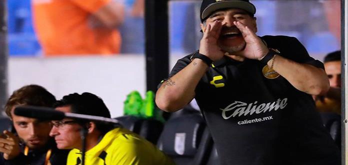 Diego Armando Maradona fue suspendido un partido en Ascenso MX