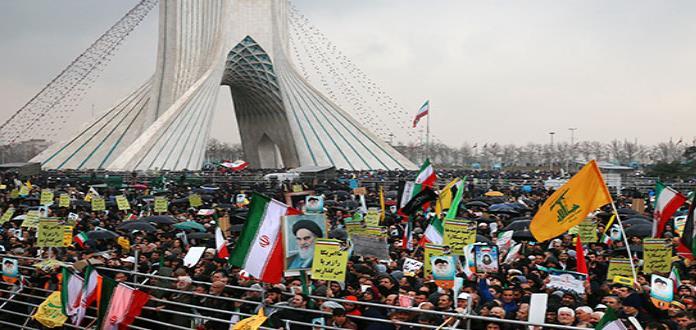 Iraníes muestran su fuerza y unidad