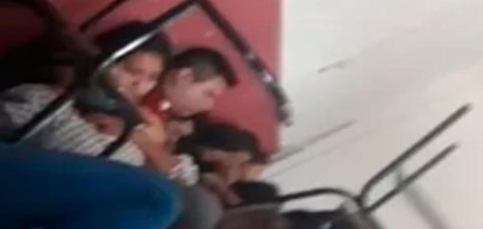 Balacera provoca pánico en escuela de Michoacán