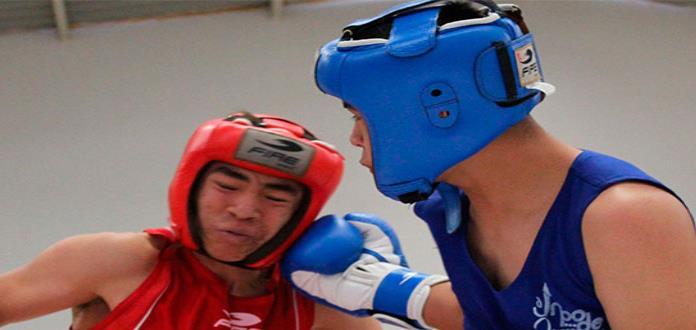 Dual Meet de box entre SL Potosí y Aguascalientes