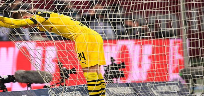 Ventaja de Dortmund se reduce tras tercer empate consecutivo