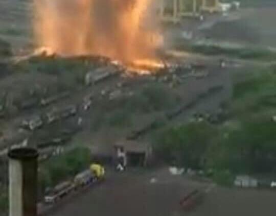 Reportan explosión en empresa ubicada en Lázaro Cárdenas sin lesionados