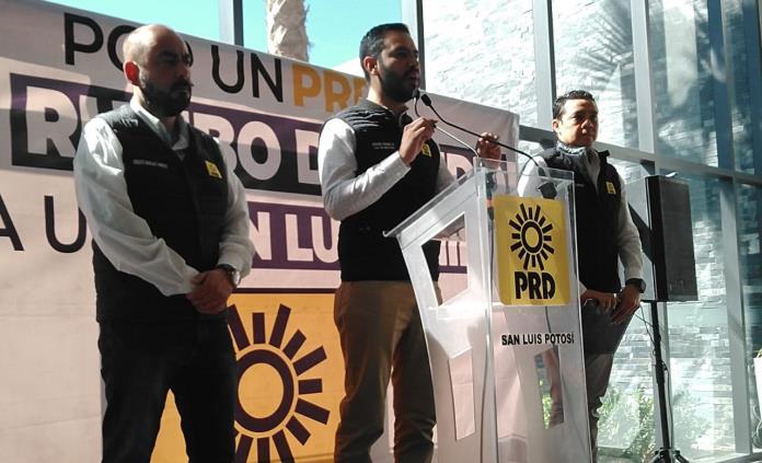 Hay liderazgos nuevos que mantendrán vivo al PRD en SLP tras la salida de Gallardo, dicen