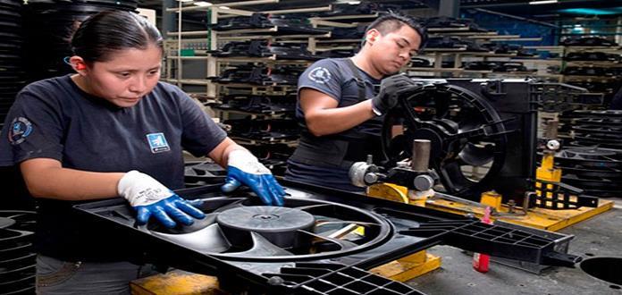 Crece 6.8% empleo manufacturero en SLP durante 2018: Inegi