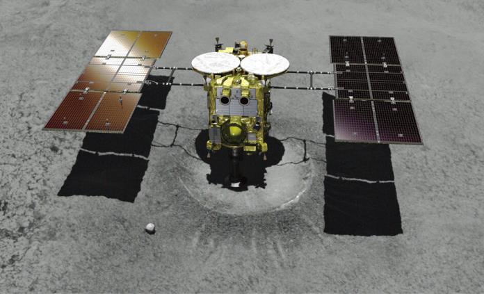 Sonda japonesa Hayabusa 2 inicia descenso a asteroide Ryugu