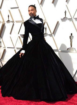 20ea43d26f Del traje rosa de Jason Momoa al drag-esmoquin de Billy Porter: los hombres  casi eclipsan a Charlize Theron en los Oscar