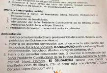 Morena obliga a abuchear gobernadores opositores en eventos de AMLO, acusa el PRI