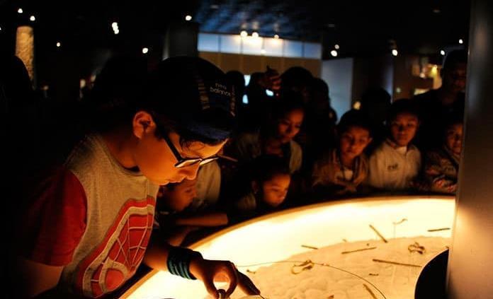 Niños potosinos visitan Museo de Antropología