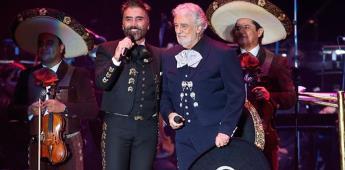 Plácido Domingo une a miles de personas en concierto benéfico
