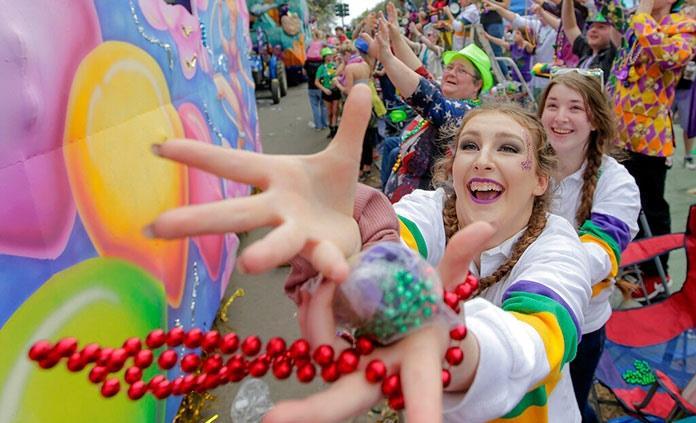 Nueva Orleans festeja el Mardi Gras