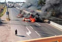 Hallan supuesta nómina de cártel de que causó bloqueos y quema de vehículos en Guanajuato