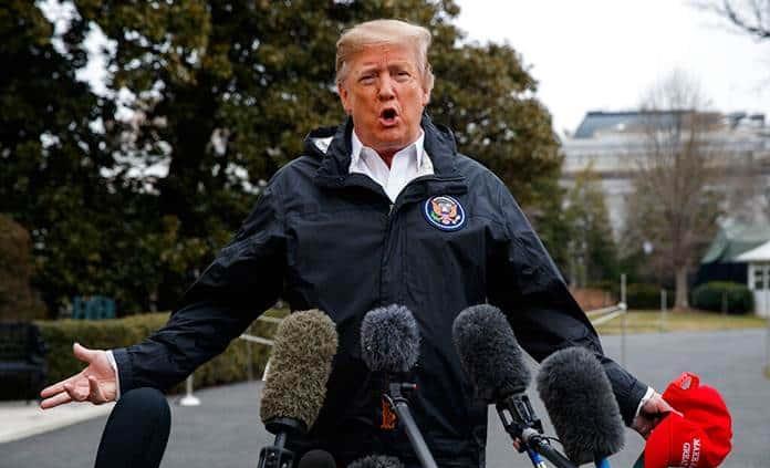 Trump se dispone a vetar rechazo a emergencia para construir el muro