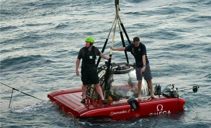 Inminente, primer video en vivo desde las profundidades del mar