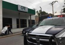 Hombres armados atracan oficinas de la CFE en  Rioverde