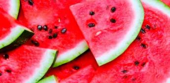 Evita la deshidratación en época de calor consumiendo alimentos jugosos