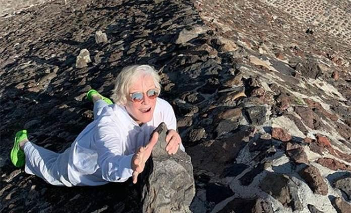 Glenn Close visita Teotihuacán