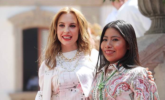 Yalitza Aparicio y Marina de Tavira se reúnen en fiesta