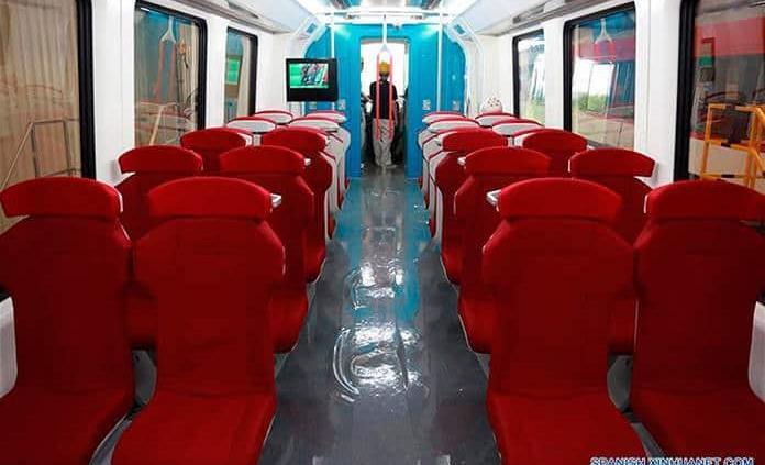 China contará con nueva línea de trenes de levitación magnética en 2020