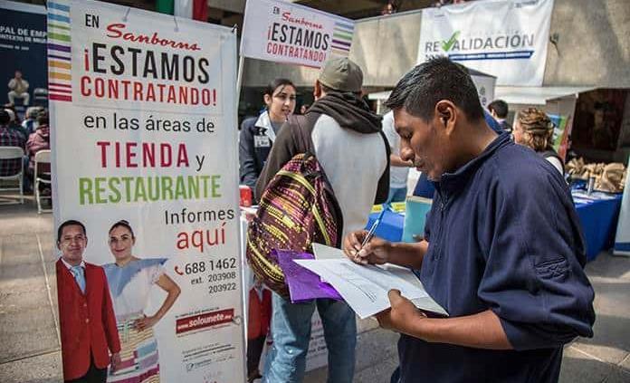 Desempleo en México sube a 3.4 en el primer trimestre de 2019