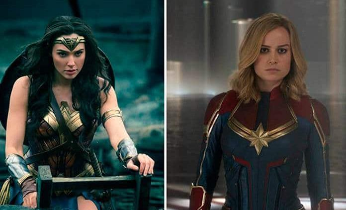 """""""La Mujer Maravilla"""" felicita a """"Capitana Marvel"""""""