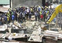 Al menos 25 muertos al colapsar una escuela en Nigeria