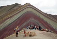 La montaña de los siete colores en Perú