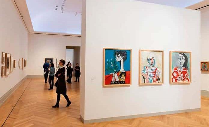 Picasso, referente del exilio español