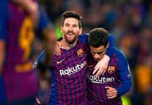 Messi iguala a Lewandowski al frente de la clasificación de goleadores