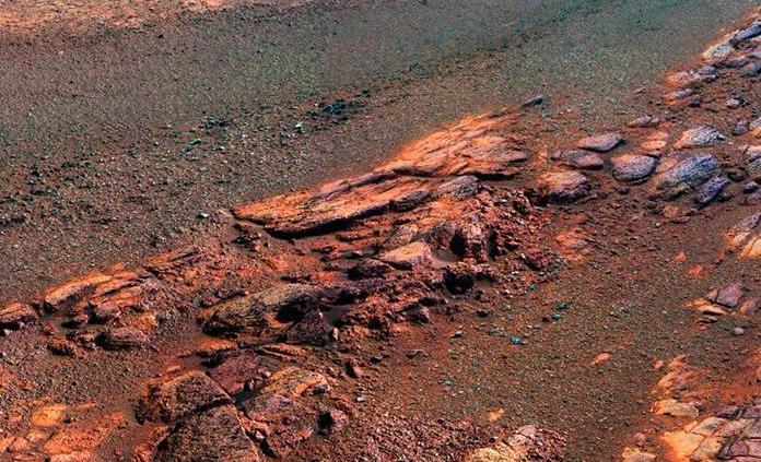 NASA muestra última vista panorámica de Marte tomada por Opportunity