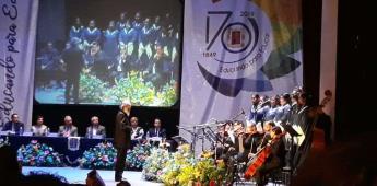 Coro de la Becene reestrena el casi centenario Himno Potosino