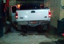 Se incendia camioneta en la Col. Bellas Lomas