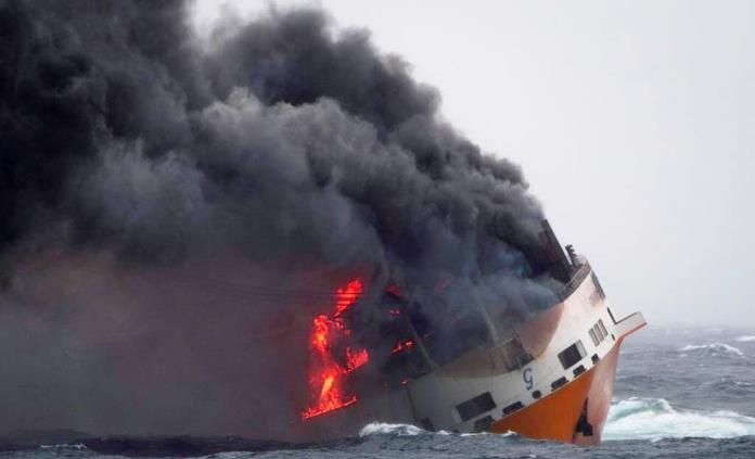 Costas francesas amenazadas por derrame petrolero