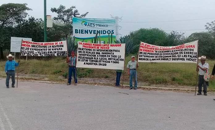 Ejidatarios de Tamuín buscan apoyo para luchar contra dos termoeléctricas y una cementera