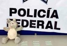 Encuentran 270 pastillas de fentanilo dentro de un ratón de peluche en Tijuana