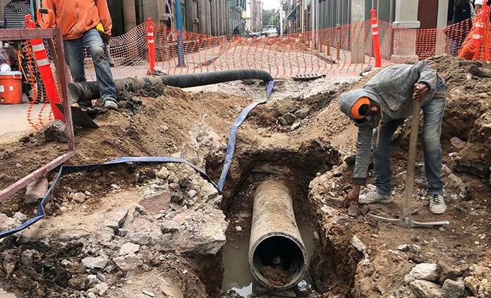 Titular de Seduvop espera que obras en la calle Guerrero estén listas para Semana Santa