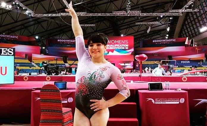 Alexa Moreno gana bronce en Copa del Mundo de Gimnasia