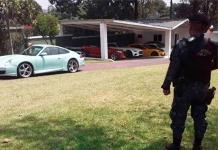 Incautan residencias y autos de lujo en Guatemala a una red ligada al cártel mexicano