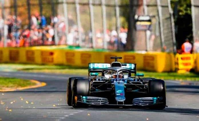 Hamilton, el más rápido de la 1ra. práctica en Australia