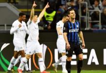 Club de Eintracht Frankfurt echa de Europa League al Inter de Milán