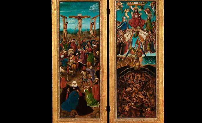 Descifran misterioso texto oculto en los marcos de Jan van Eyck