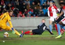 Slavia Praga logra hazaña en la Europa League