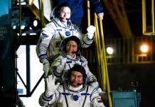 La nave tripulada rusa Soyuz MS-12 despega rumbo a la EEI