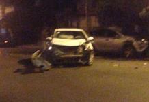 Aparatoso choque en la avenida Cuauhtémoc